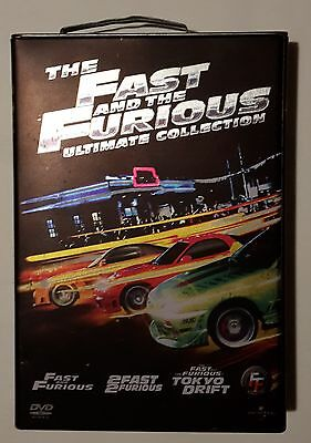 "Dvd ORIGINALE: ""Fast and Furious"" - Edizione Limitata (Tanica in latta) (4 dvd)"