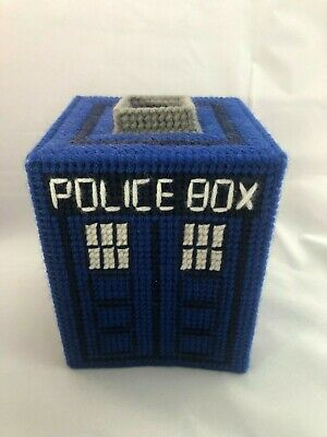 doctor who tardis tissue cover