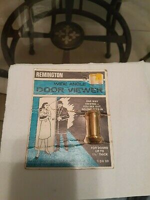 Remington peephole door viewer vintage made in the USA!