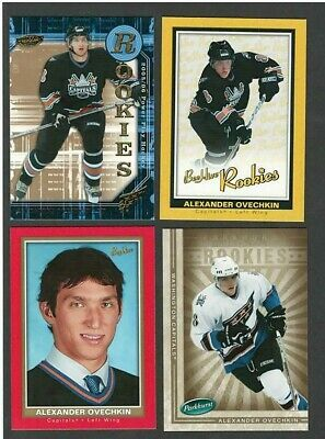 05/06 Ovechkin UD RC Lot of 8 Cards  Power Play Beehive Parkhurst Victory