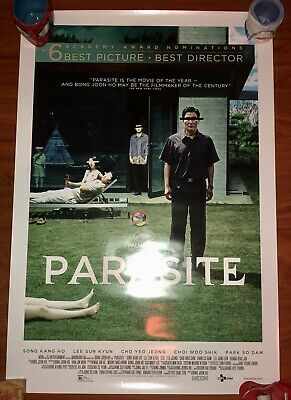 "PARASITE ORIGINAL THEATRICAL MOVIE POSTER Double Sided 27"" X 40"""