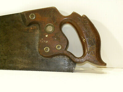 Antique Vintage_E.C. Atkins & Co._Crosscut Hand Saw_Early 20th Century (?)