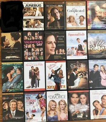 DVD Romance comedy Action Movies Variation Lot or YOU PICK / CHOOSE Romantic