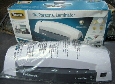 never used A4 A5 A6 ID FELLOWS personal laminator