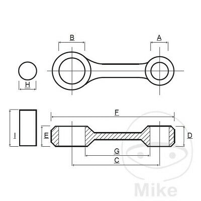Motorcycle Prox Con Rod Kit