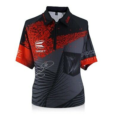 Phil The Power Taylor Signed 2018 Darts Jersey | Autographed Sports Memorabilia