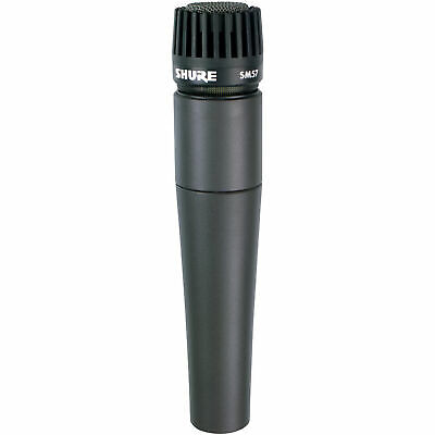 Shure SM57-LC Instrument Microphone SM 57 57LC Dynamic Cardioid Mic US48
