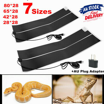 Adjustable Temperature Reptile Heating Heat Mat Heating Pad For Pet dN