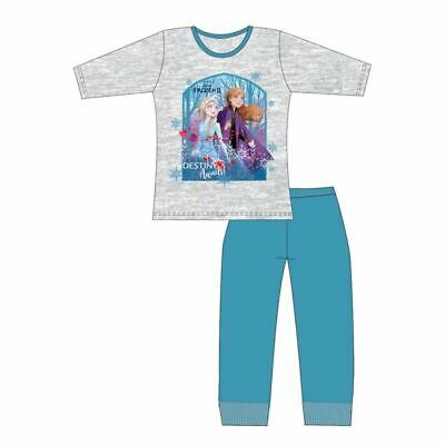 Disney Frozen 2 Girls Official Pyjamas Set Pjs Nightwear Ages 4 to 10 years