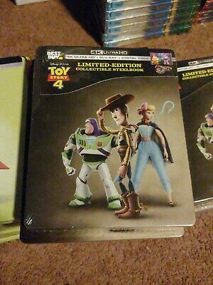 Toy Story 4 Steelbook (4k Ultra HD and Blu-ray) Tom Hanks