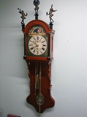 Dutch Friesian Staart Tail Clock (good working condition)