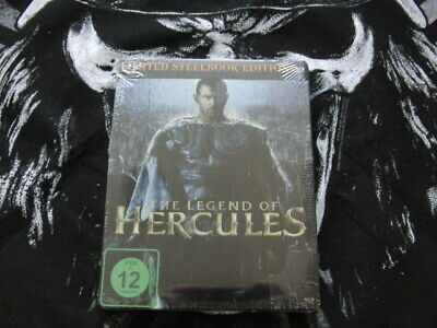 == The Legend Of Hercules  -  Blu Ray - Limited Edition - Steelbook - Ovp ==