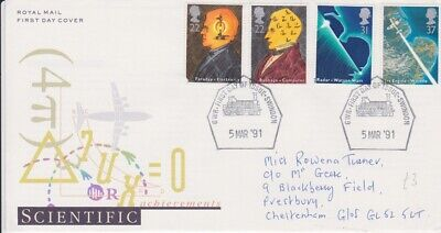 Gb Stamps First Day Cover 1991 Scientific Great Western Railway Rares Collection