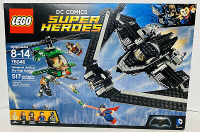 LEGO DC COMICS SUPER HEROES of Justice: Sky High Battle #76046 BRAND NEW IN BOX