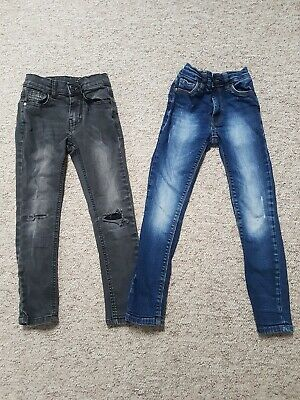 Boys Ripped Skinny Jeans From Next And Marks And Spencer.age 5- 6 Year's