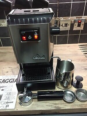 Gaggia Classic 1300W Made In Italy🇮🇹!! All Brass Internals.