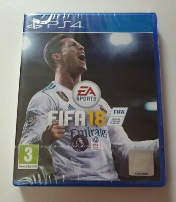 Fifa 18 - Playstation 4 - PS4 - Brand New and Sealed - Region 2