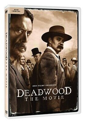 Deadwood: The Movie (DVD + Digital), 2019 Brand New, Fast Shipping
