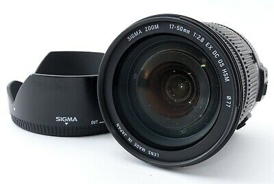 """SIGMA 17-50mm f/2.8 EX DC OS HSM Lens for Nikon """"AS-IS/For Parts"""" 550614"""