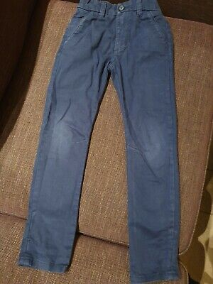 Navy NEXT Boys Chinos Age 7 Smart/casual
