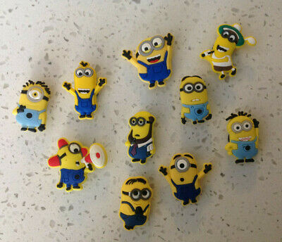 Mixed Minions Cartoon Shoe Charms for your Crocs and Jibbitz,