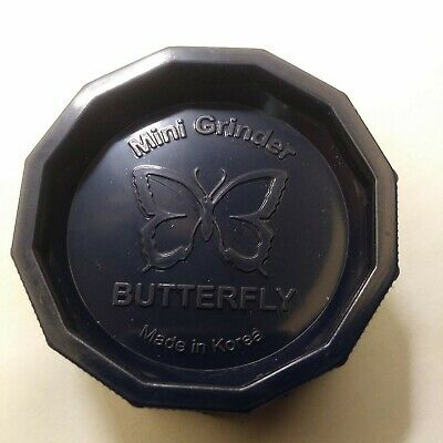 """ONE (1) BUTTERFLY 2"""" HERB GRINDER (choose color!)"""