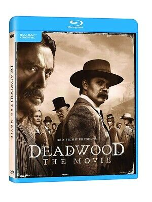 Deadwood: The Movie (Blu-ray + Digital) 2019, Brand New, Fast Shipping