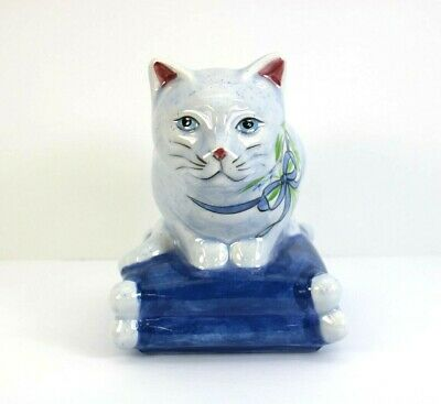 #M4157 LIFE-LIKE PLANTER ASSORTED CATS Continental Creations #P1107
