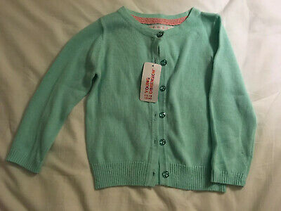 Primark Young Dimension Mint Cardigan 18-24 Months BNWT