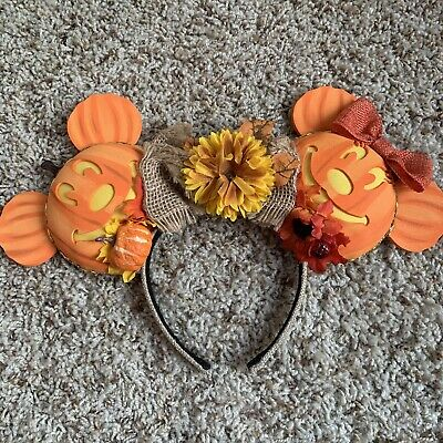 (Pre-Owned) Disney Autumn/Fall Magic Mouse Ears Headband - LIMITED EDITION