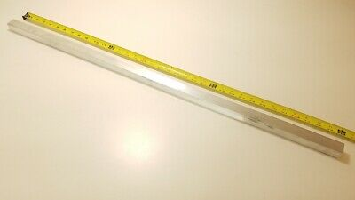 "6061 Aluminum Square Bar Rod, 1"" Thick x 1"" Wide x 36"" long, Solid Stock T6511"