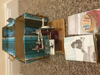 Vintage Essex Miniature Sewing Machine With Box & Instructions Retro Collectable