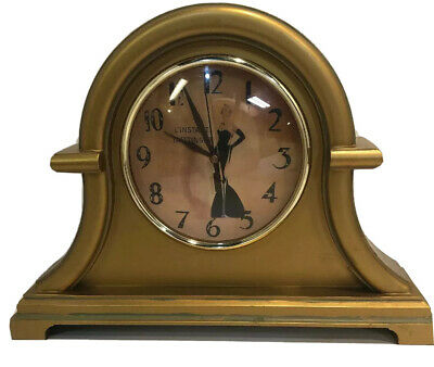 """Working L Instant Taittinger Reims French Champagne Clock 12 1/2"""" X 9 1/2"""""""