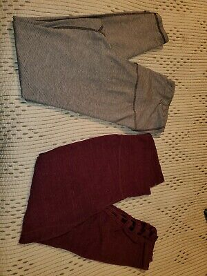 2 Pairs Old NAVY Active, GO DRY leggings/yoga Pants XL