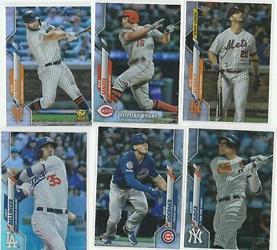 2020 Topps Series 1 Baseball Rainbow Foil Parallel U-Pick Complete Your Set