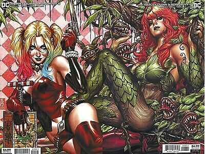 Harley Quinn & Poison Ivy #6 Lot of 2 Connecting Variants covers