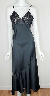 Victoria secret Vintage Gold Label Black Negligee With Tags