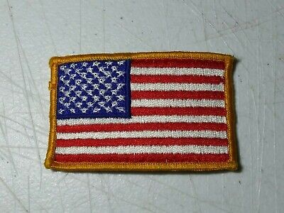 U. S. Flag Sew-On Patch GPC