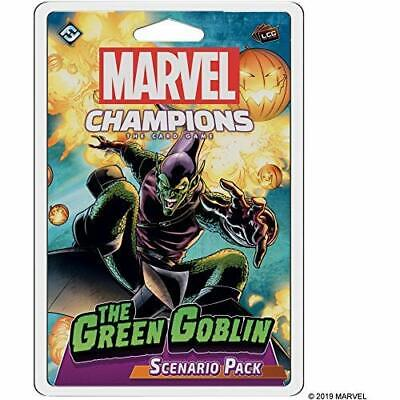 Marvel Champions LCG The Green Goblin Scenario Pack New Exclusive Card Game