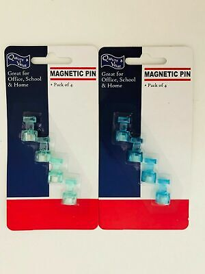 24pcs Mini Strong Fridge Magnets Magnetic Crafts Whiteboard Push Pins for Office