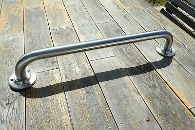 """600mm ( 24"""") Satin Stainless Steel Disabled Safety Grab Rail / Support Rail -c"""