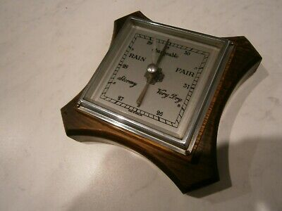 Vintage English Made Pendant Wall Barometer
