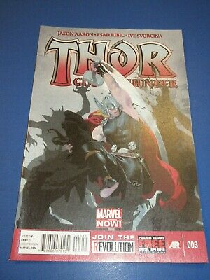 Thor God of Thunder #3 2nd Gorr God Butcher NM Gem Wow