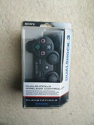 Sony PlayStation 3 PS3 DualShock 3 Wireless Controller Boxed