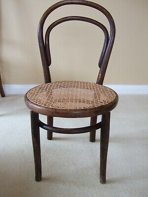 Antique Bentwood Caned Chair