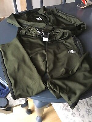 Boys Adidas Tracksuit Age 13-14years -Only Worn A Couple Of Times
