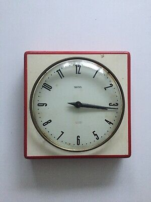 vintage smiths wall clock For Repair All Parts Included