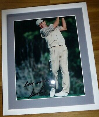 NICK PRICE-A Superb Hand Signed Photo,Mounted & Matted-RARE & COA Too