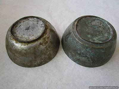 Turkish Islamic Ottoman empire - set of two large copper pots early 18th century