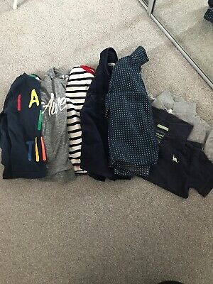 Bundle Of Boys 4-5 Yrs Next Tops/Shirts/T-Shirts